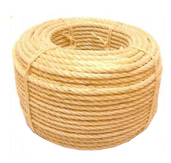 ROLLO 200 MT MAROMA CUERDA SISAL  6 MM